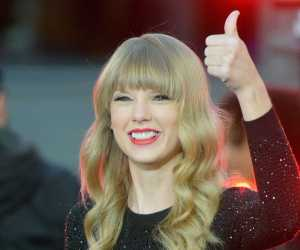 Taylor Swift refuses to speak Irish