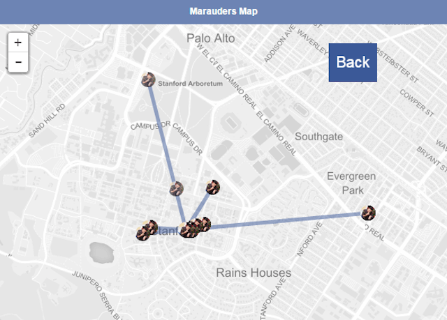 marauders map app