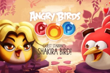 angry birds pop shakira