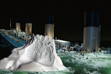 Titanic Iceberg in action