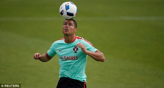 Coaching staff have been training Ronaldo to balance balls on his head like a performing dolphin in return for raw fish treats. Much of Portugal's incompetence may stem from this.