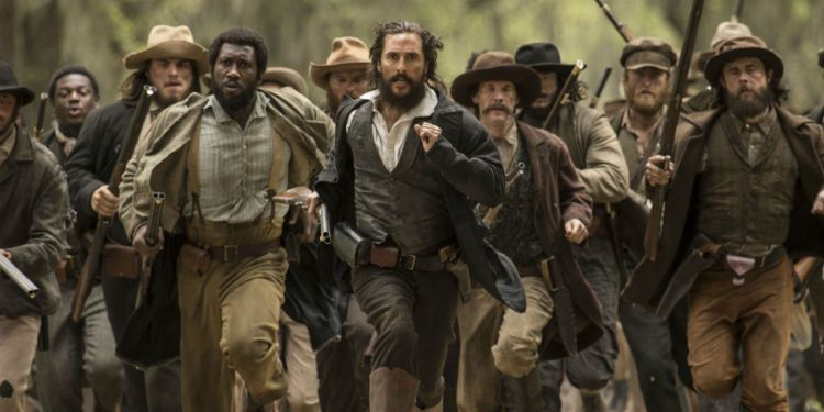 Matthew McConaughey in Free State of Jones.