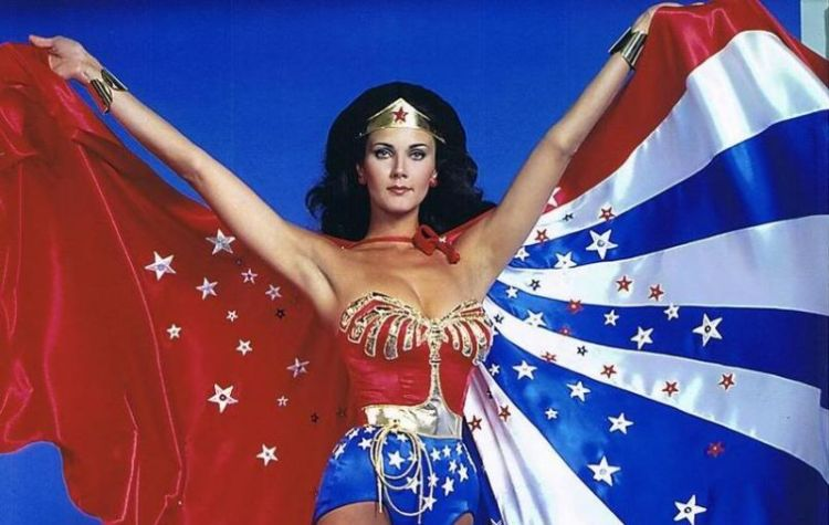 Lynda Carter played DC's number one woman in the 1970s.