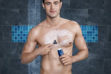 nivea for men shaving stick goodie back