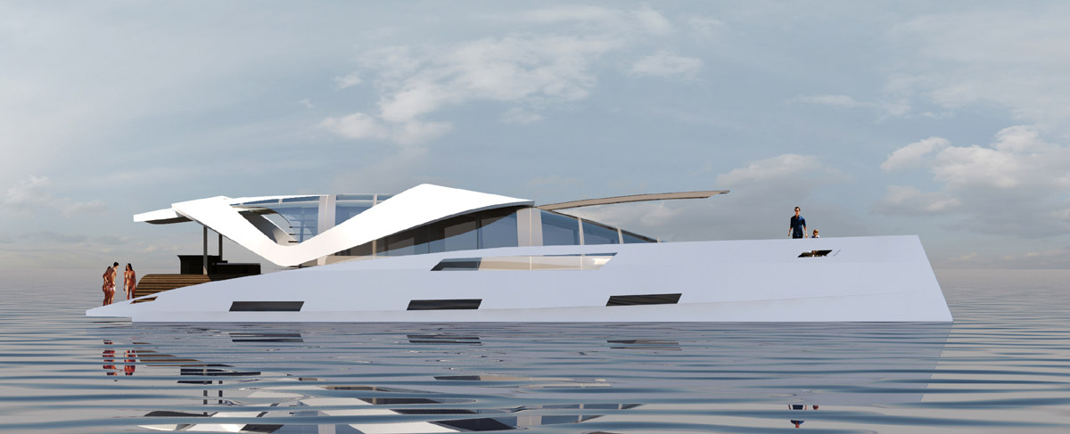 Oxygne Yachts AIR 99 Power Catamaran