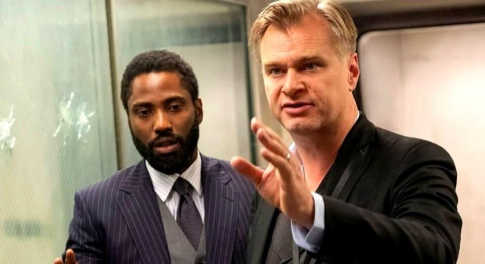 Tenet Christopher Nolan
