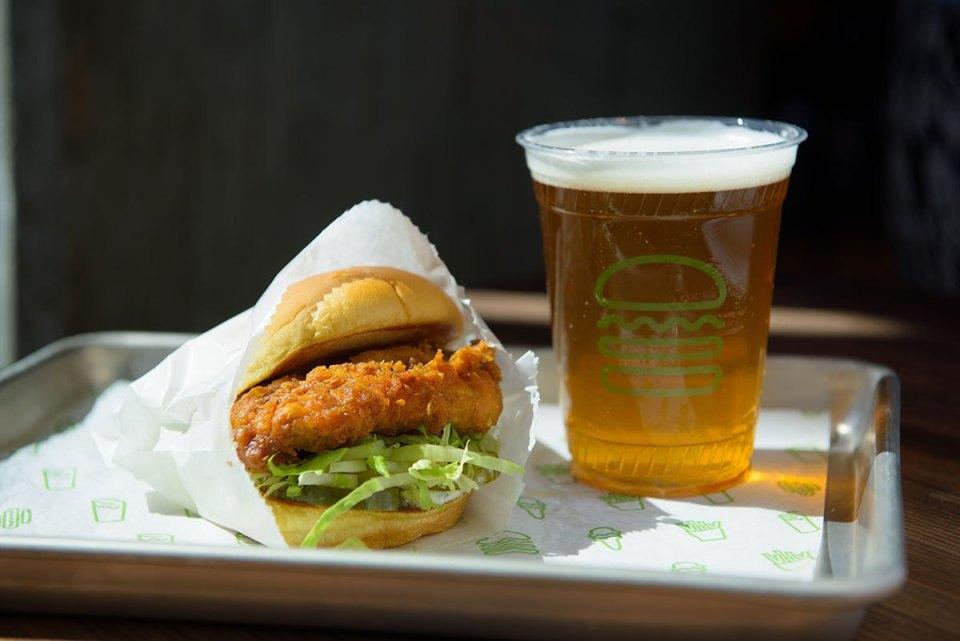 Chick'n Shack: La nueva hamburguesa de Shake Shack libre de hormonas