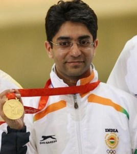 Abhinav Bindra win Gold medal in Pairs 10m Air Rifle and create Commonwealth Games record