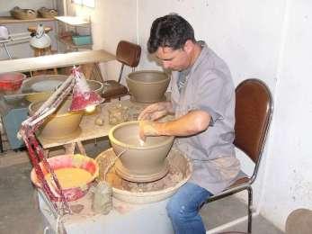 les potiers de Molelos : Antonio Marques