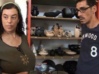 potiers de Molelos : Xana Monteiro et Carlos Lima