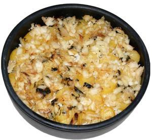 gratin de morue et pommes de terre