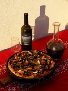 pizza de l'Etna