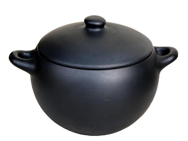 la gamme de poterie culinaire Oyera : la marmite LJ25 d'environ 2,5 litres