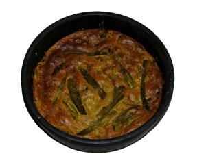 cake aux asperges vertes