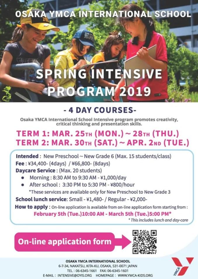 Spring Intensive Programme 2019