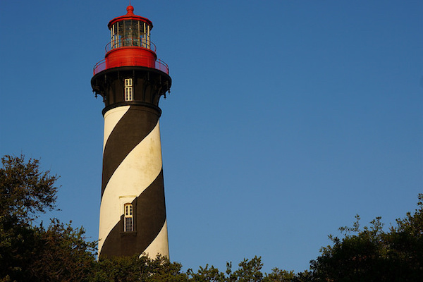 St. Augustine Light (Photo courtesy Rachel Kramer)