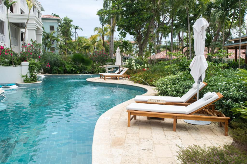 The Lagoon Pool at the Sandals Barbados