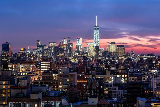 New York City skyline/Oyster