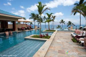 The Adult Pool at the Four Seasons Maui
