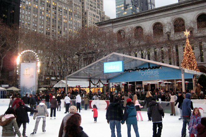 Bryant Park Holiday Shops; Photo Credit: Wally Gobetz