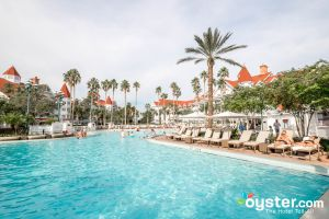 The Courtyard Pool at Disney's Grand Floridian Resort & Spa/Oyster