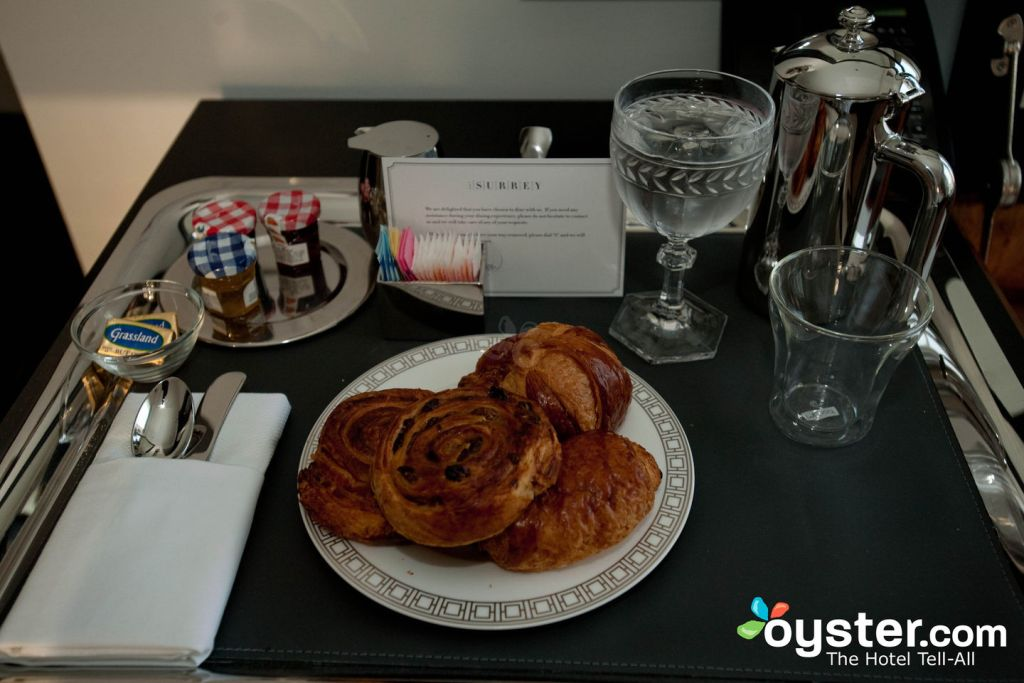 Room Service at The Ultra Deluxe Salon at The Surrey