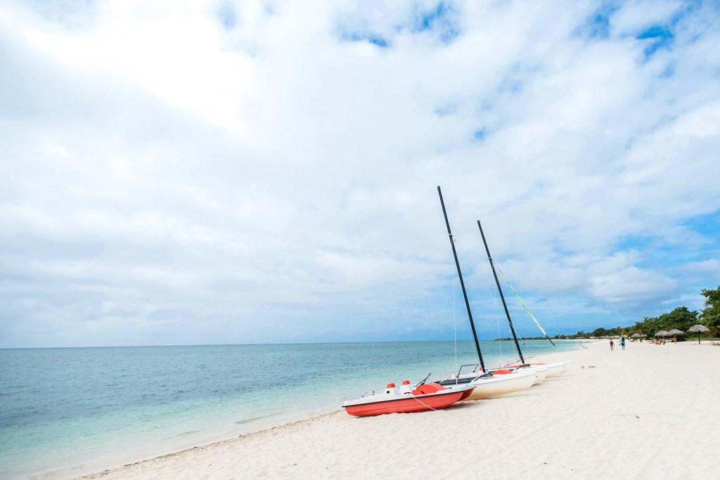 Beach at the Brisas Trinidad del Mar