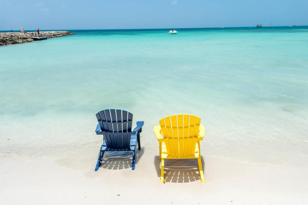 Beach at the Divi Aruba Phoenix Beach Resort