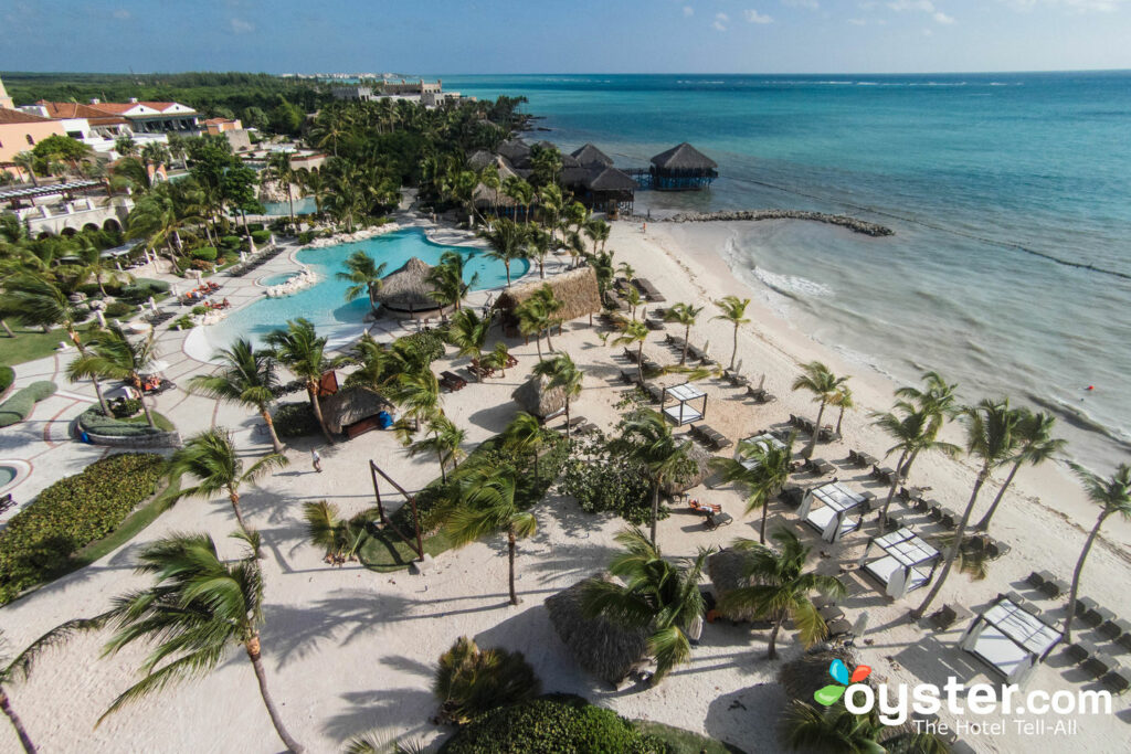 Aerial View of Sanctuary Cap Cana/Oyster