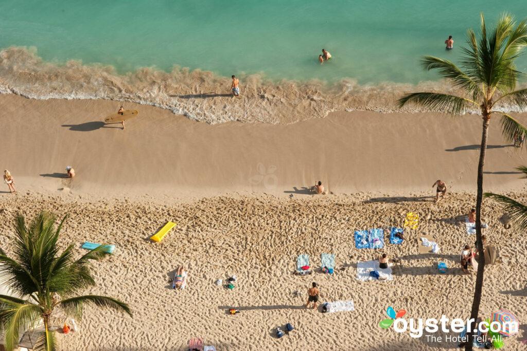 Playa en Outrigger Waikiki Beach Resort, Honolulu