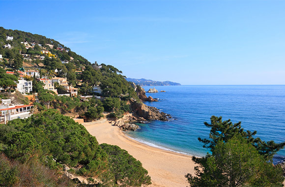 Photo: Cala Sant Francesc Beach via Shutterstock