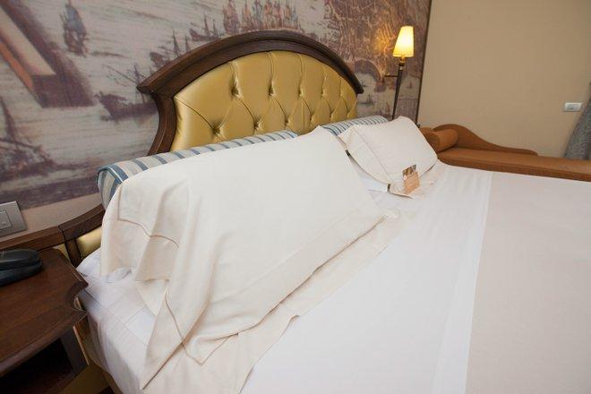 La chambre exécutive du Grand Hotel Savoia / Oyster