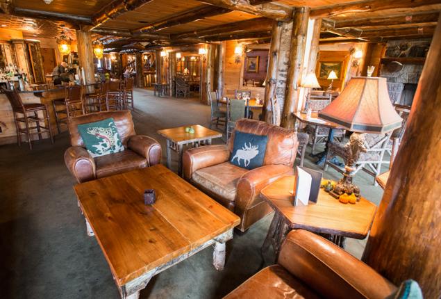 KANU Lounge au Whiteface Lodge / Oyster