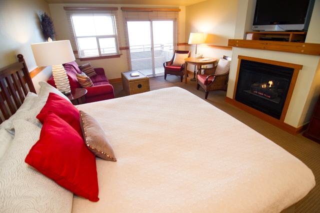 The Oceanfront King con Sleeper en The Ocean Lodge / Oyster
