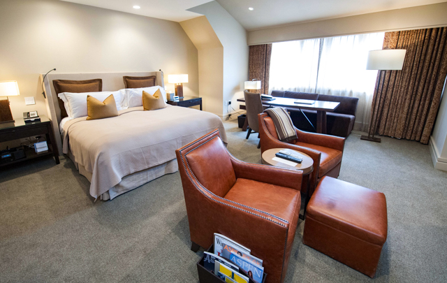 La chambre Townview au Little Nell / Oyster