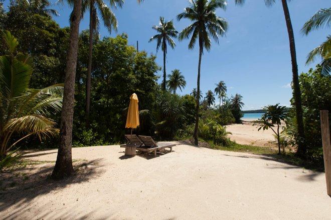 The Private Beach Pool Reserve 5 habitaciones en el Soneva Kiri / Oyster