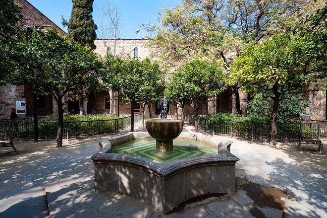 Antic Hospital de la Santa Creu, El Raval, Barcelona / Oyster