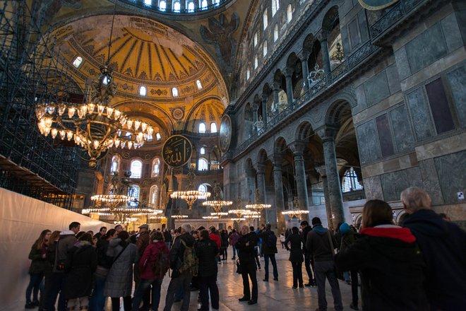 Hagia Sophia / Ostra