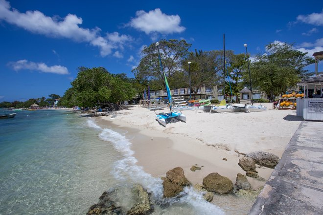 Beach at Hedonism II, Jamaica / Oyster