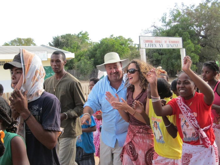 Personal Zimmern photo: Zimmern and Rishia in Madagascar