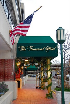 The Townsend Hotel, Photo Credit: Patricia Drury, Flickr