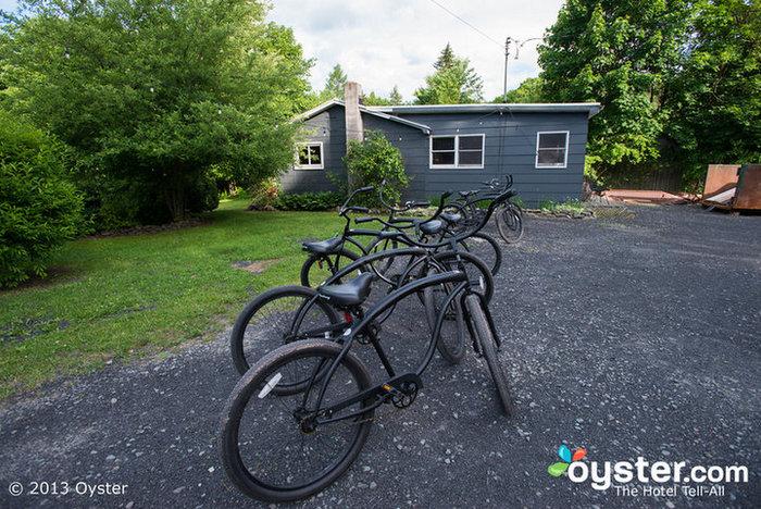 Bicicletas emprestadas no The Graham & Co.