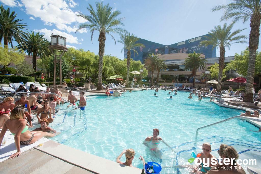 La piscina de la Academia en el MGM Grand Hotel & Casino / Oyster
