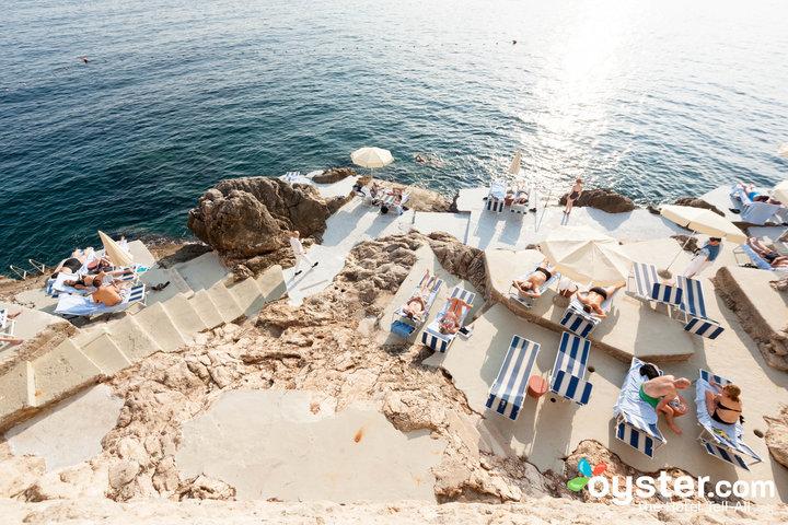 Vista dalla Villa Dubrovnik.