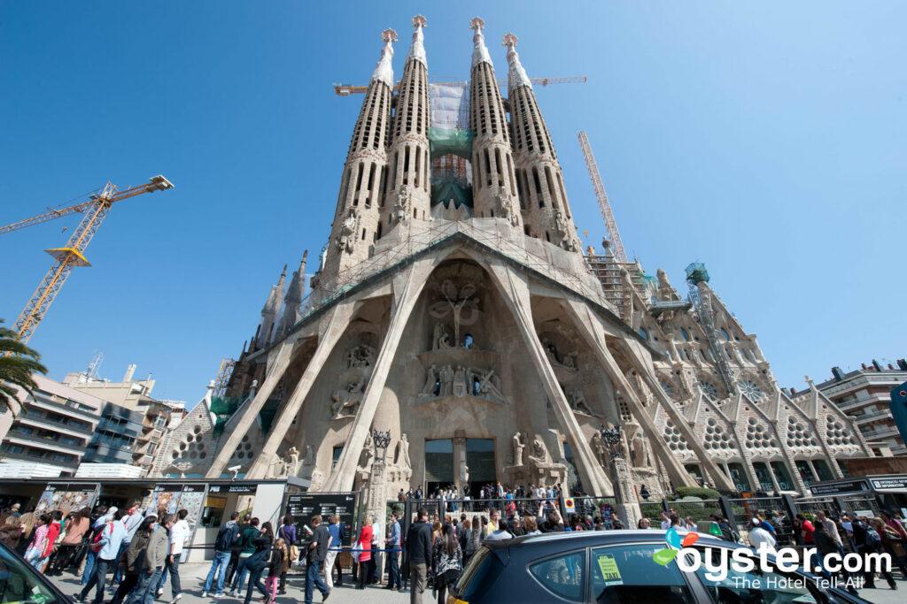Sagrada Família, Barcelona / Ostra