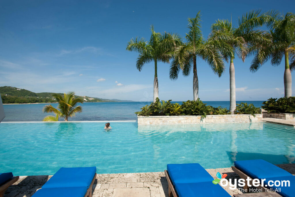 Piscine au Round Hill Hotel & Villas, Jamaïque / Oyster