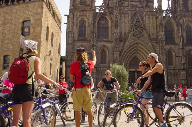 Barcelona Tour de medio día en bicicleta / Viator