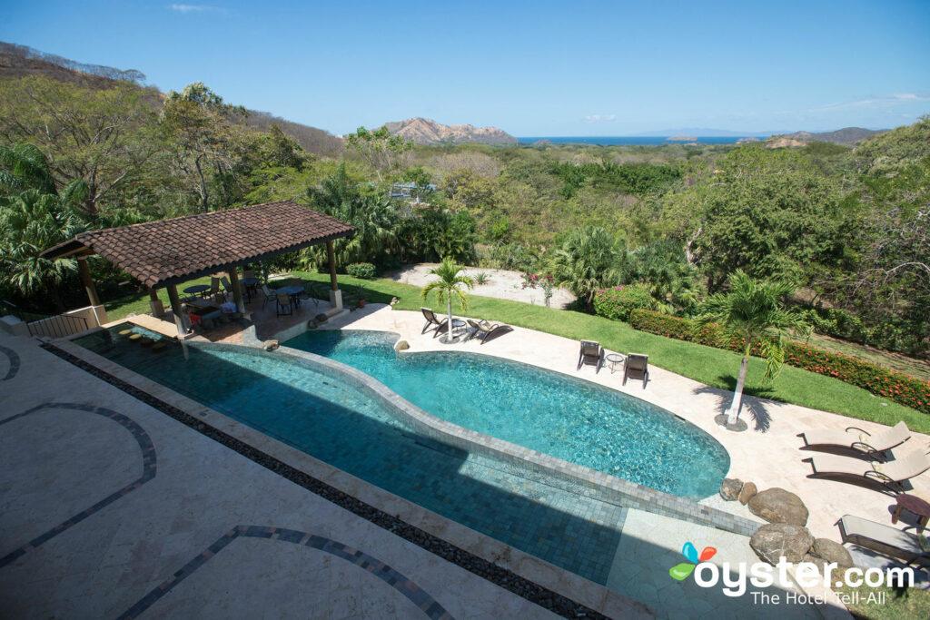 The Pool at Villa Buena Onda