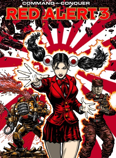 Command & Conquer Red Alert 3 Uprising