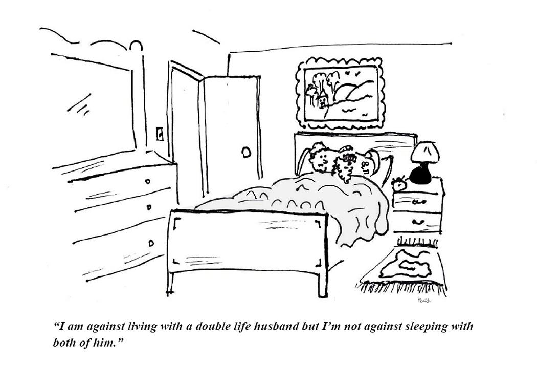 picture Cartoon threesome